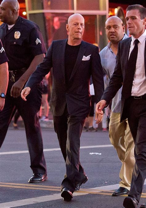 Bruce Willis Seen Out With by Bruce Willis Photos Photos Bruce Willis Out In