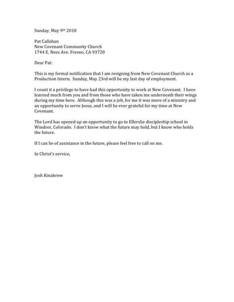 Resignation Letter For Community Resignation Letter Format Best Letter Of Resign Sle Terms Resignation Letter