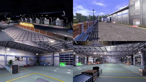large garages custom large garage ets 2 mods ets2downloads