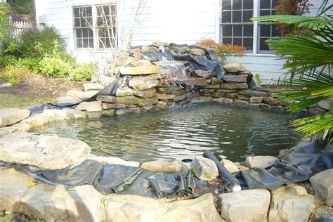 how to build a small pond in your backyard koi pond