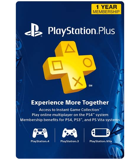 Play Station Gift Card - psn plus card 1 year us email delivery mygiftcardsupply