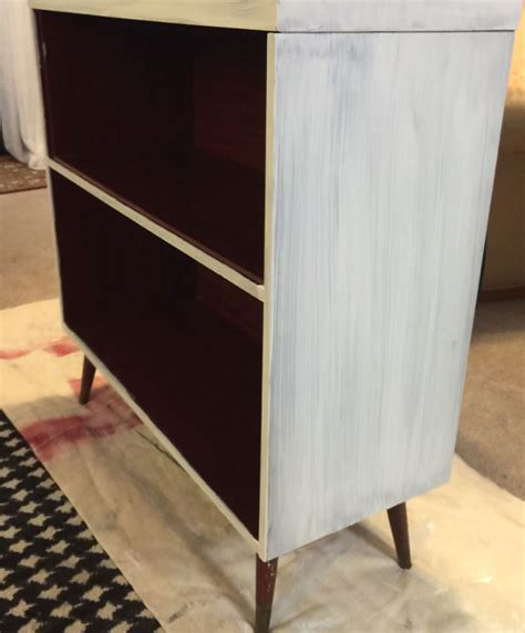 Vaios Get New Coat Of Paint by Record Cabinet Makeover With Original Paint