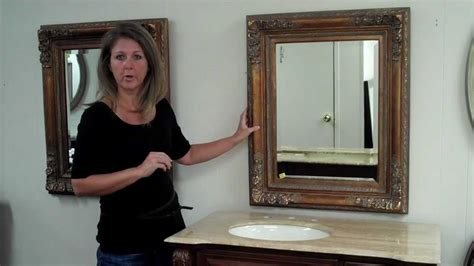 Proper Height For Bathroom Vanity Mirror How To Choose The Sized Vanity Mirror To Go With