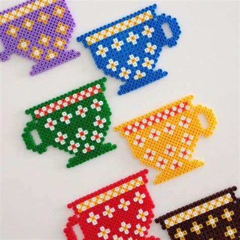 cup coasters hama by fkdeko perler hama