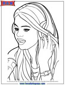coloring pages selena gomez coloring