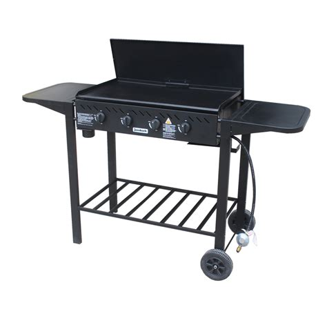 tops bar b que jumbuck 4 burner flat top delta bbq bunnings warehouse