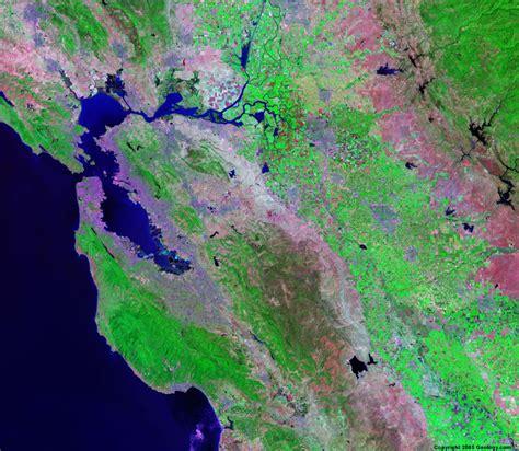 satellite map california satellite images of united states cities landsat