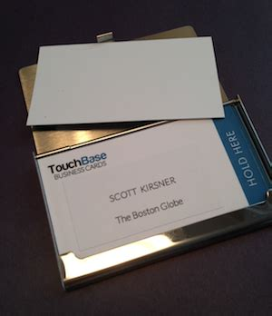 boston business card printing touchbase tries one more time to reinvent the business