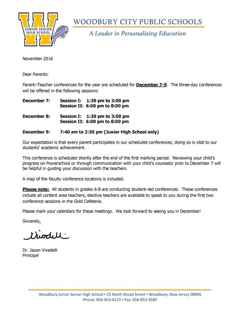 spanish teacher parent conference letter by lizzy s classroom tpt