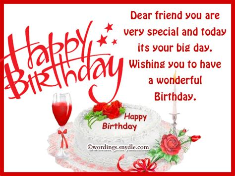 Happy Birthday Friend Cards Happy Birthday Wishes For Best Friend New Hd Template