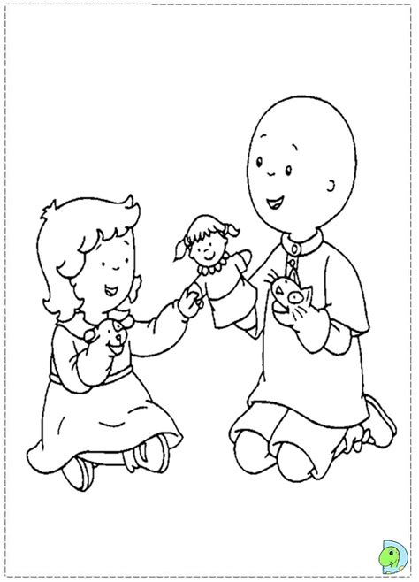 Caillou Color Pages Az Coloring Pages Caillou Coloring Page