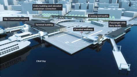 ferry boat schedule seattle massive 6 year seattle ferry terminal replacement project