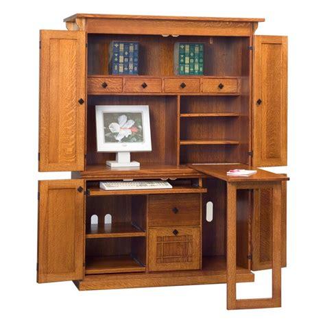 mission computer armoire mission computer armoire amish desks amish furniture