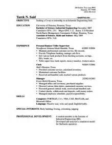 bank teller objectives for resume resumes design