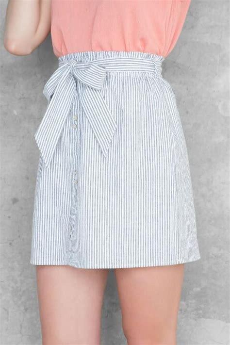 Shirt Maisy De maisy seersucker skirt and skirts