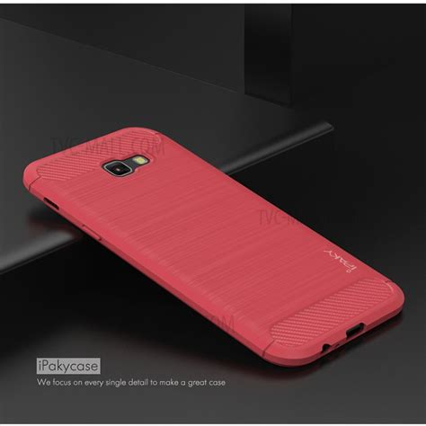 Casing Cover Samsung A5 2017 Ipaky Original Carbon Bumper Neo Hybird ipaky for samsung galaxy a5 2017 a520 brushed tpu