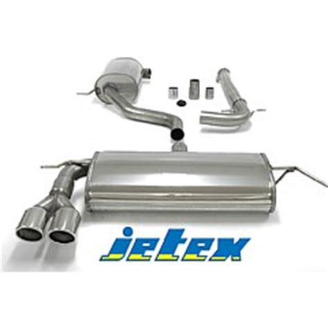 audi a3 exhaust system jetex exhaust system audi a3 8p 1 6 1 6fsi 2 0fsi