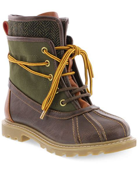duck boots for boys hilfiger boys or boys charles duck boots