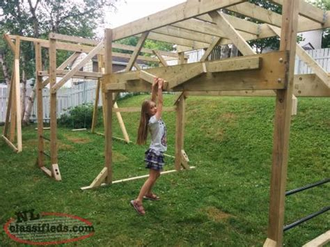backyard monkey bars just in time for summer backyard monkey bars swings or