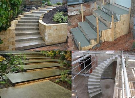 Building Concrete Steps How To how to build concrete steps home design ideas plans