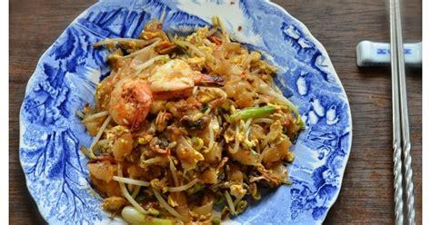 indonesian medan food kwe tiau goreng penang fried flat
