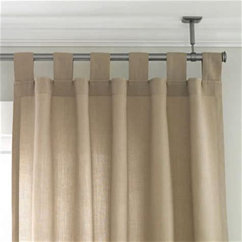curtain pole attached to ceiling studio ceiling mount curtain rod set