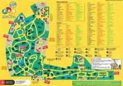 barcelona zoo map spain zoomaps co uk