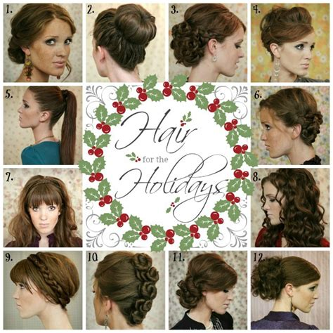 hairstyles for winter party the freckled fox hair for the holidays