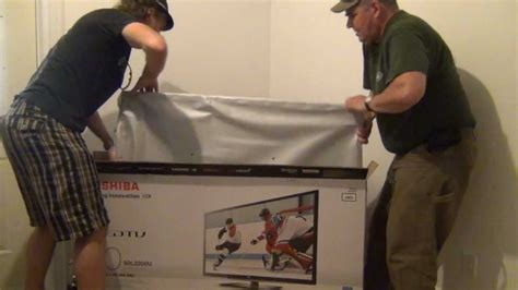 Unboxed Tv And Direct To Your Screen by Toshiba 50 Inch L2200 Series Led Lcd Tv Unboxing