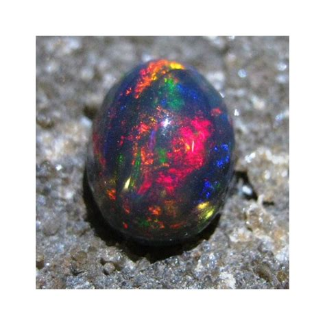 Black Opal Kalimaya Jarong Mantap batu mulia brownish black opal 1 45 carat bening jarong