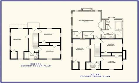 second floor addition floor plans second story addition floor plan up stairs addition ideas
