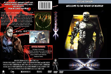 Custom Part 10 jason x friday the 13th part 10 dvd custom