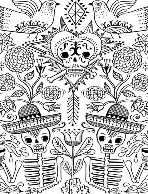 Just Add Color: Day of the Dead: 30 Original Illustrations