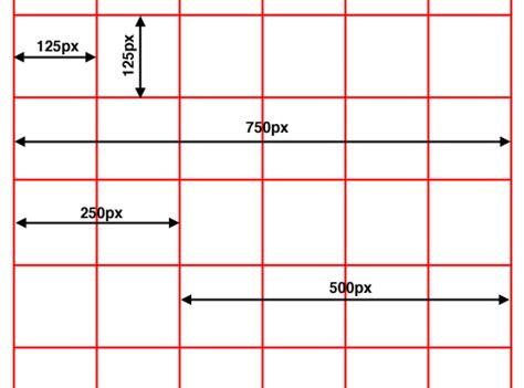 grid pattern web design the grid system in design
