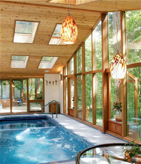 swimming pool room cedar pool room addition john sramek remodeling