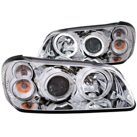 2000 nissan maxima headlight nissan maxima 2000 2001 chrome projector headlights halo
