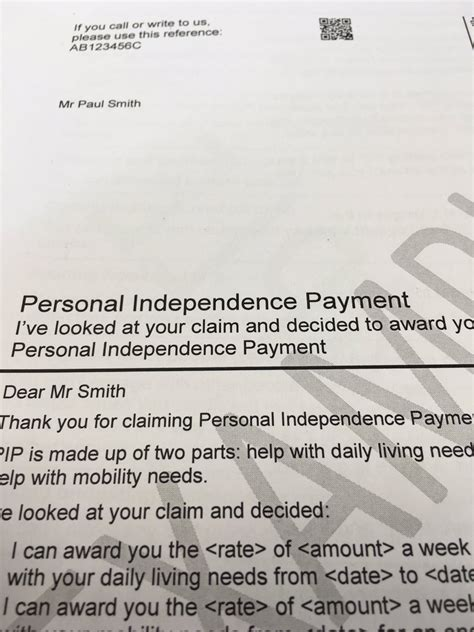 Appeal Letter For Personal Independence Payment Conn O Neill On Quot New Pip Decision Letters Are Clearer For Claimants Created With Input