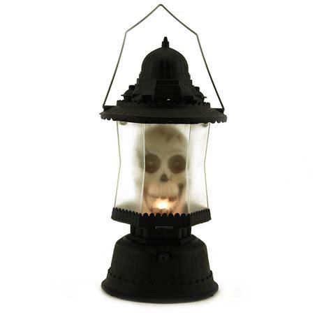 light up halloween led skull lantern music sounds light up scary skeleton