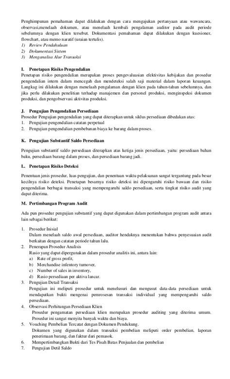 Manajemen Biaya 1 Dan 2 Ed 5 makalah auditing ii pengauditan siklus produksi persediaan