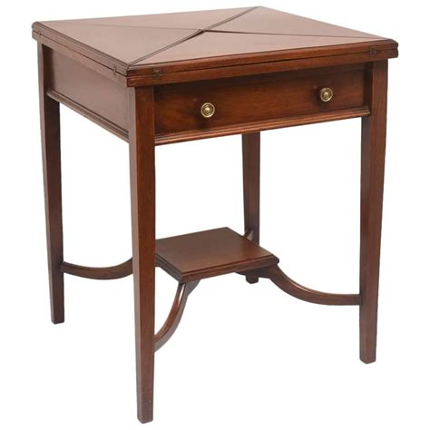 Table With Folding Sides Folding Or Side Table At 1stdibs
