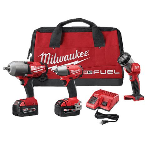 Milwaukee 2796 23 M18 Fuel Cordless Lithium Ion 3 Tool