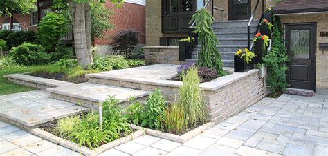 Classic Modern Landscaping in Cartierville   Montreal