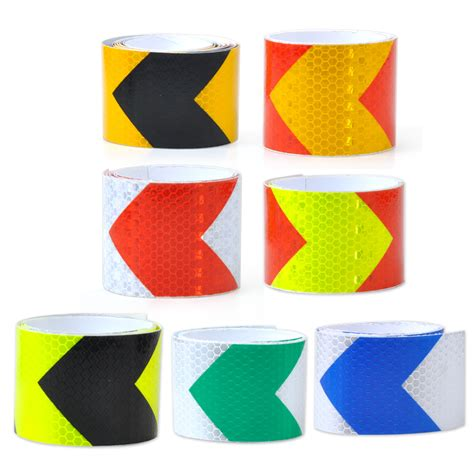 2 quot x118 quot arrow safety warning conspicuity reflective roll marking sticker ebay