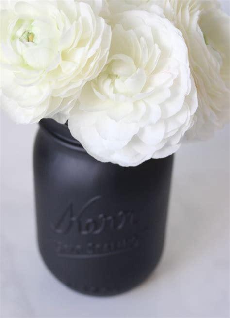 diy matte black mason jar matte black mason jar black