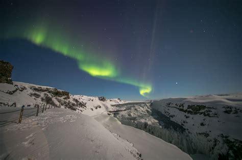 iceland northern lights winter golden circle winter in iceland and northern