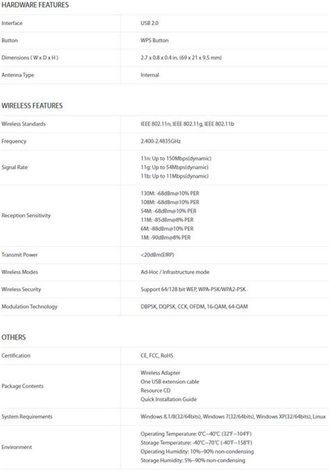 Harga Tp Link 727 jual tp link tl wn727n harga bersaing spesifikasi