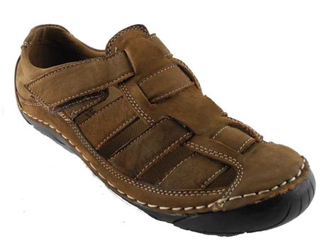 mens closed toe sandals mens nubuck leather closed toe sandals summer trail shoes