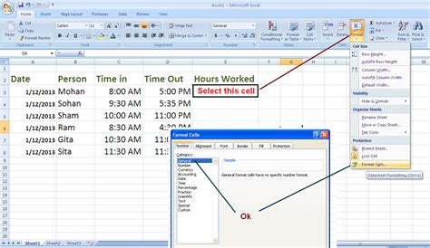 excel format hours and minutes not time calculate hours in excel 2007 calculate hours in excel