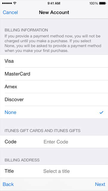 Sle Credit Card For Apple Id neo how to create an apple id without credit card