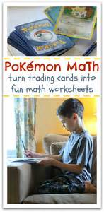 pokemon math learning after no time for flash cards